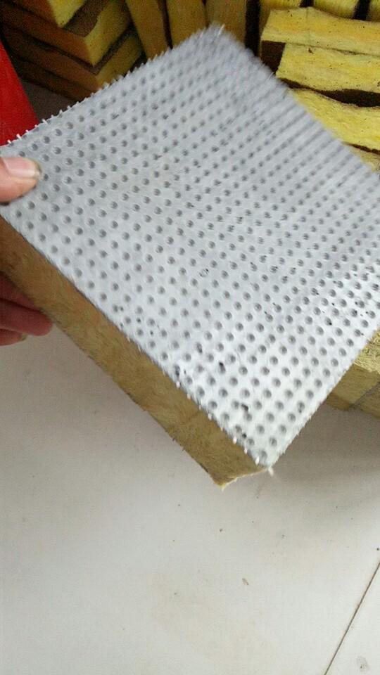 岩棉复合板 外墙保温板