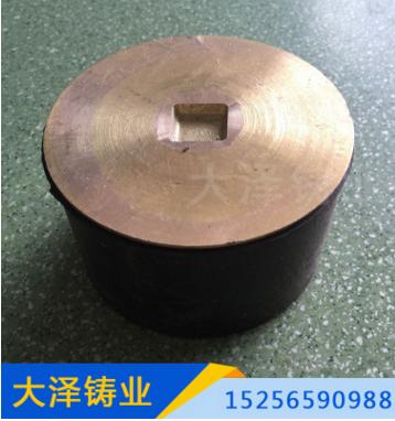 厂家直销供应DN300s排水系统铜面清扫口 铸铁清扫口 地面清扫