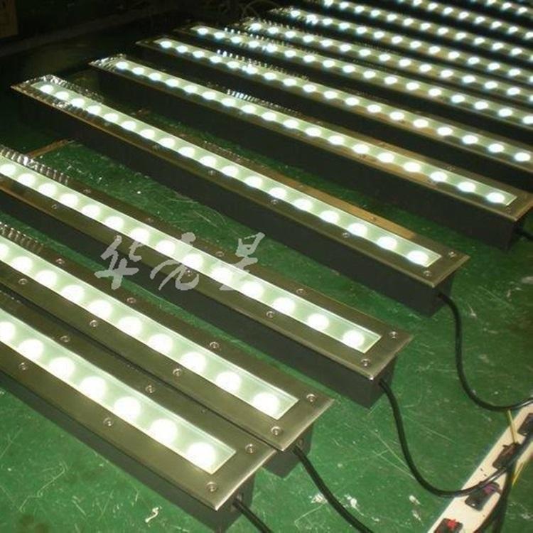 条形地埋灯led18w,厂家,单色七彩RGB,DMX512多彩