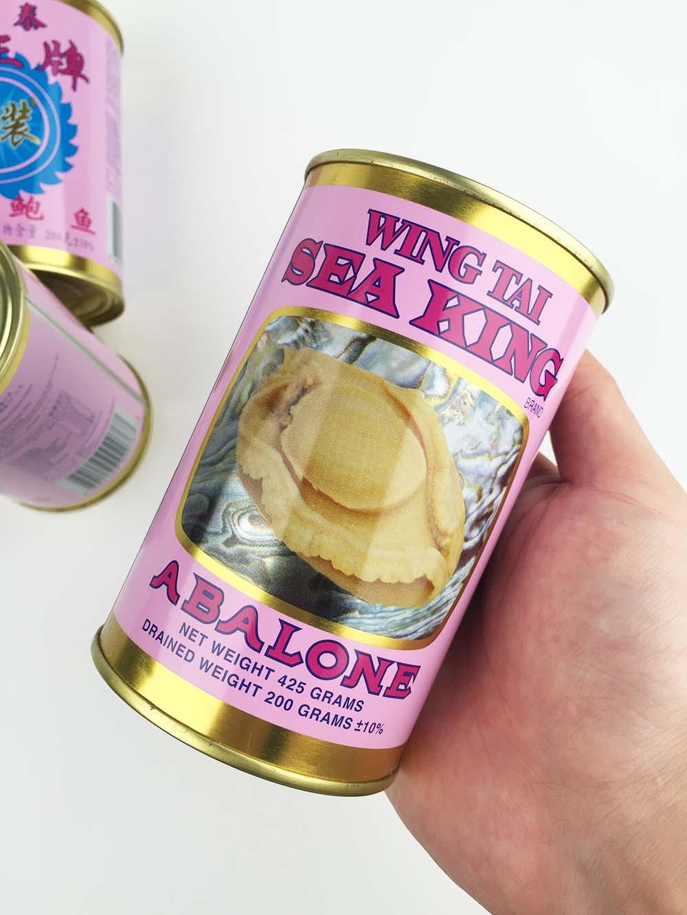 香港永泰海王牌 清汤鲍鱼罐头 海关罚没货 海关扣货 华泽贸易