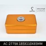 金属包装容器AC-2779A保健食品高档包装铁盒高级茶叶包装铁罐