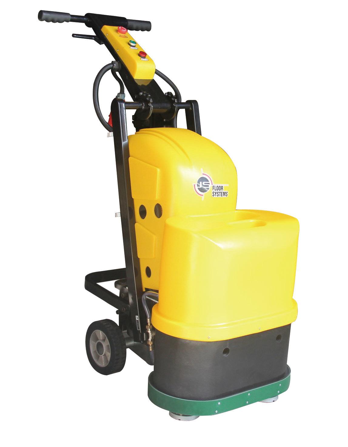 地坪研磨机 地坪抛光机 12头研磨机 石材翻新机JS550