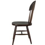 田园实木餐椅 咖啡厅椅子 厂家直销田园实木餐椅 靠背白橡休闲酒店家具椅子