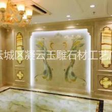 现代背景画广东石材厂家装电视背景 现代背景画广东石材厂家