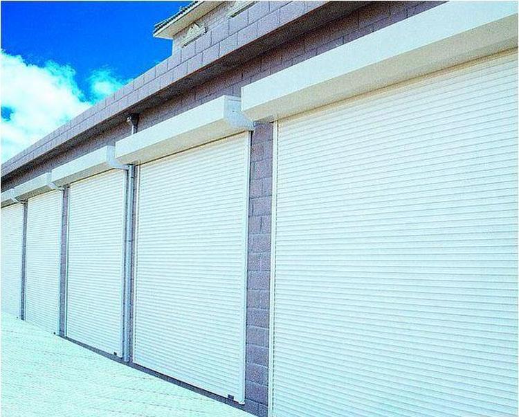 上海铝合金电动卷帘门,型材车库门