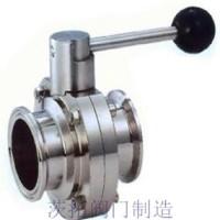 上海D81F卫生级蝶阀,D681F/D981F卫生级蝶阀细节图