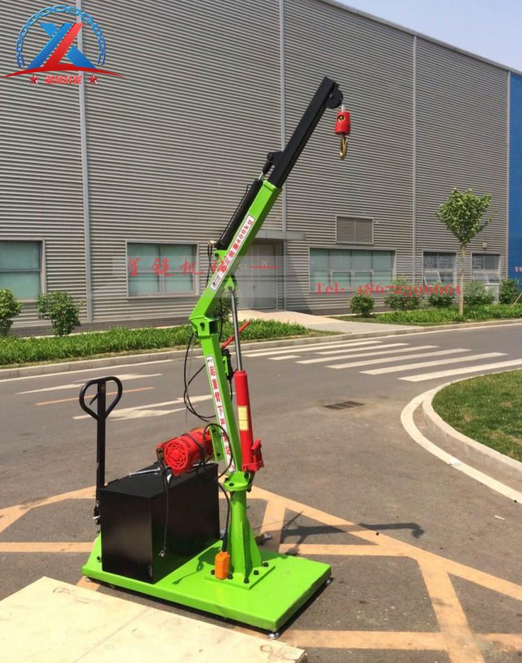 移动液压式小吊机  移动液压式小吊机 12V吊运机
