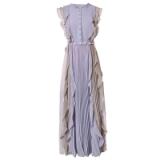 达菲时尚新款夏季女装上饶女裙长款连衣裙碎花女裙时尚女裙流行女裙