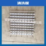 不锈钢304材质清洗篮筐 加工定做方形汽车零部件清洗用网筐 河北厂家供应