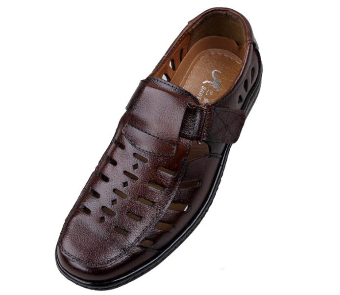 新款男士夏季凉鞋洞洞鞋销售