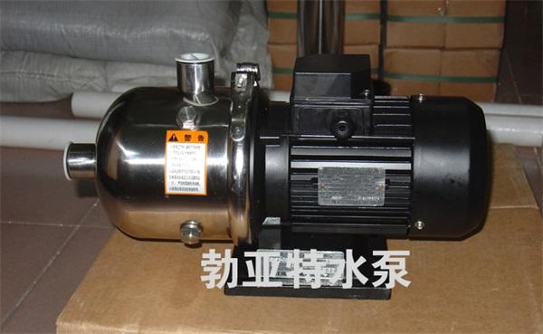 水泵厂家直供QDW型不锈钢泵 离心泵 轻型多级