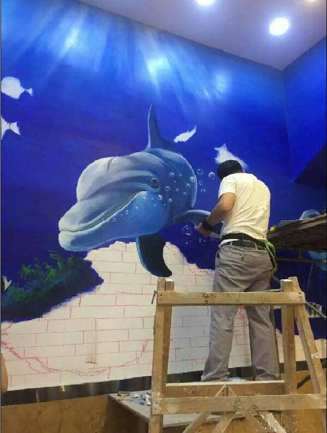 东莞壁画、电视背景墙、沙发背景墙