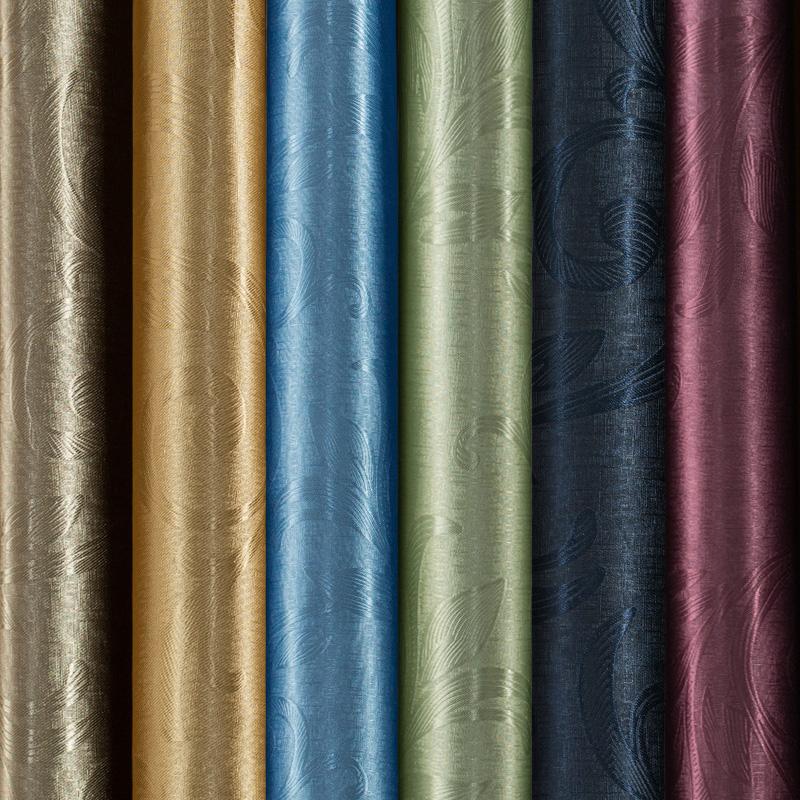 纯色窗帘成品特价欧式简约现代客厅报价