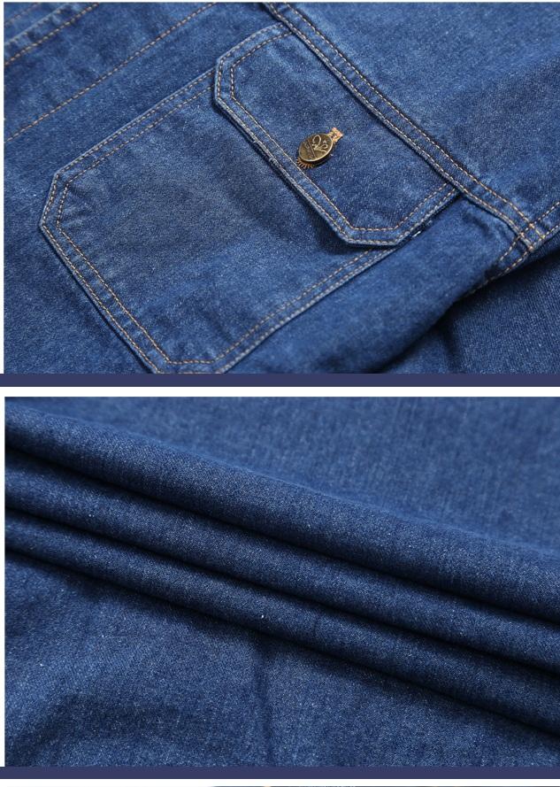 工厂供应全棉劳保牛仔布 100%棉劳保牛仔布