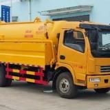CLW5115GQW5清洗吸污 车 东风多利卡程力威清洗吸污车清扫(洗)车 CLW5115GQW5清洗吸污车