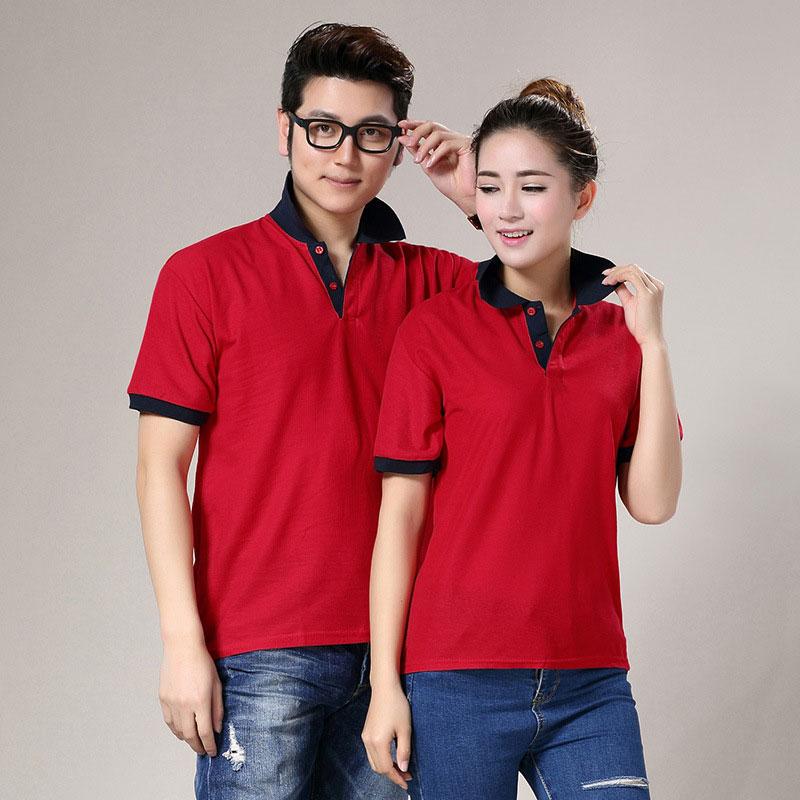 厂家专业定制 拼色领POLO衫 价格优异 现货提供 欢迎订购