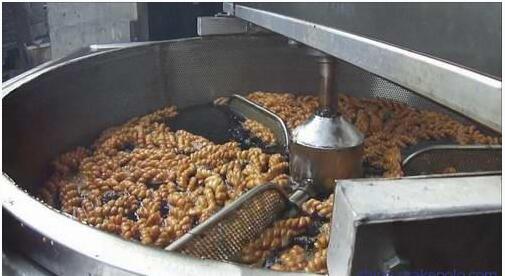 艾斯科豆泡油炸机 豆泡油水分离油炸机 豆制品油炸锅油炸机厂家