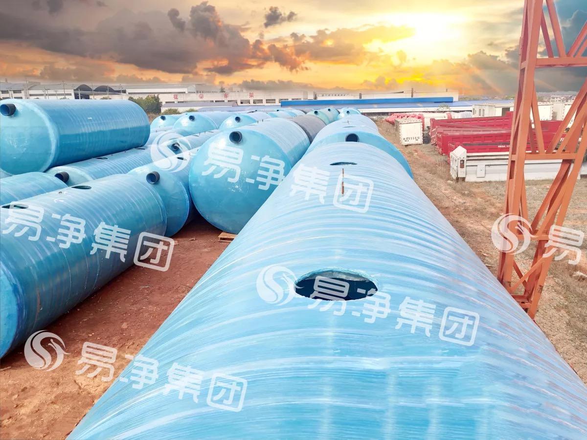 玻璃钢雨水收集罐  云南玻璃雨水收集罐