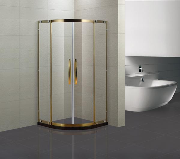 广东淋浴房十大品牌德太N系列扇形淋浴房 厂家直销