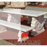 石雕桌子、石雕凳子定制石雕工艺各式石质桌子凳子华恒石材雕塑厂家