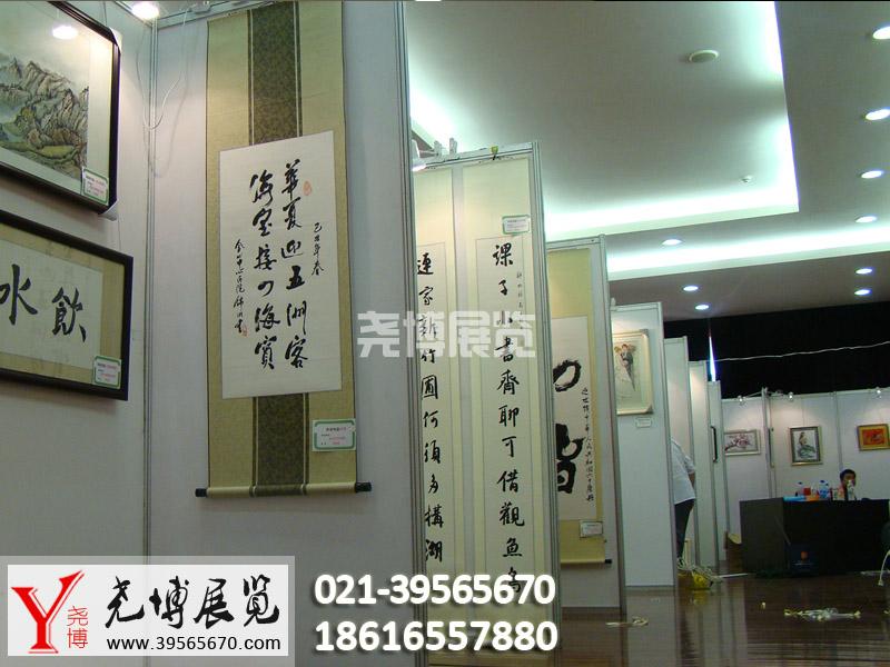 企业书画展活动布置挂画展架板出租销售