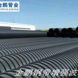 大口径排污管_钢带增强螺旋管与双壁波纹管对比分析