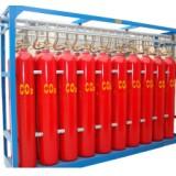 高压二氧化碳自动灭火系统、石蜡、沥青等可熔化的固体火灾、西安厂家现货供应