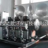 陕西厂家生产恒压供水设备 管道增压泵 不锈钢水箱