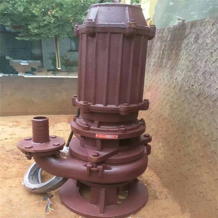 专业制作矿用强耐磨NSQ潜水吸沙泵高络合金材质ZJQ立式潜水抽砂泵渣浆泵