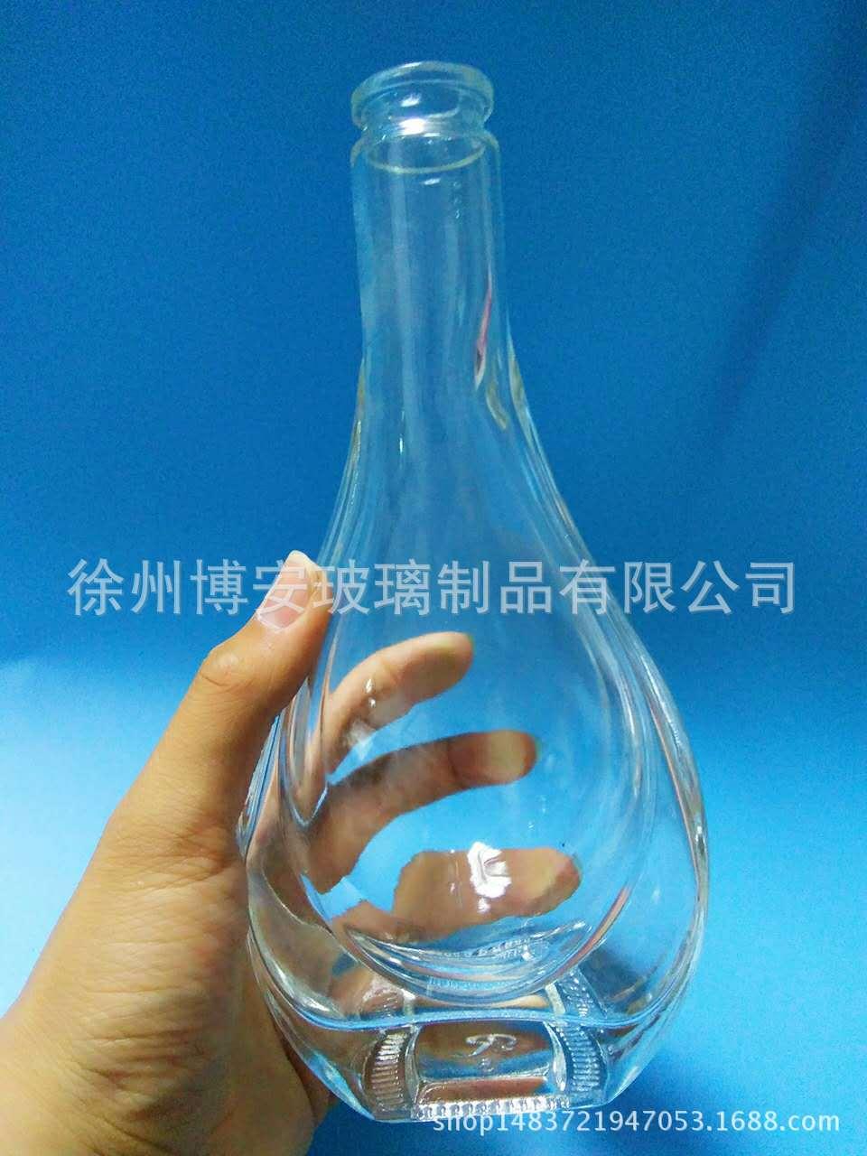 厂家直销透明玻璃白酒瓶红酒瓶自酿酒瓶 红酒瓶报价 白酒瓶直销