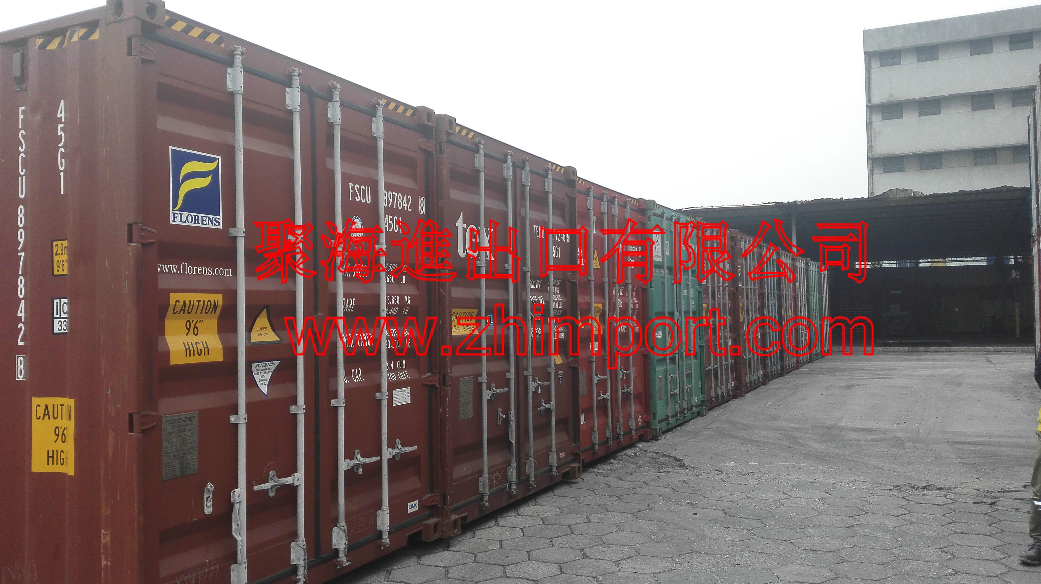 二手TFT面板制造设备韩国进口清关货运代理