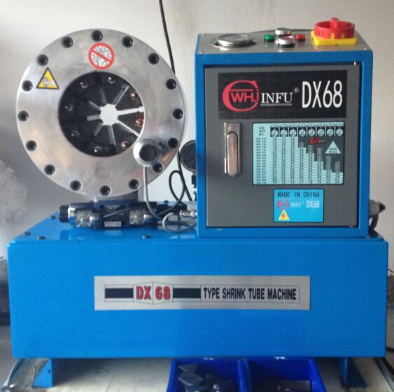 DX68扣压2寸6层高压钢丝编织油管压管机 2寸高压钢丝压管机