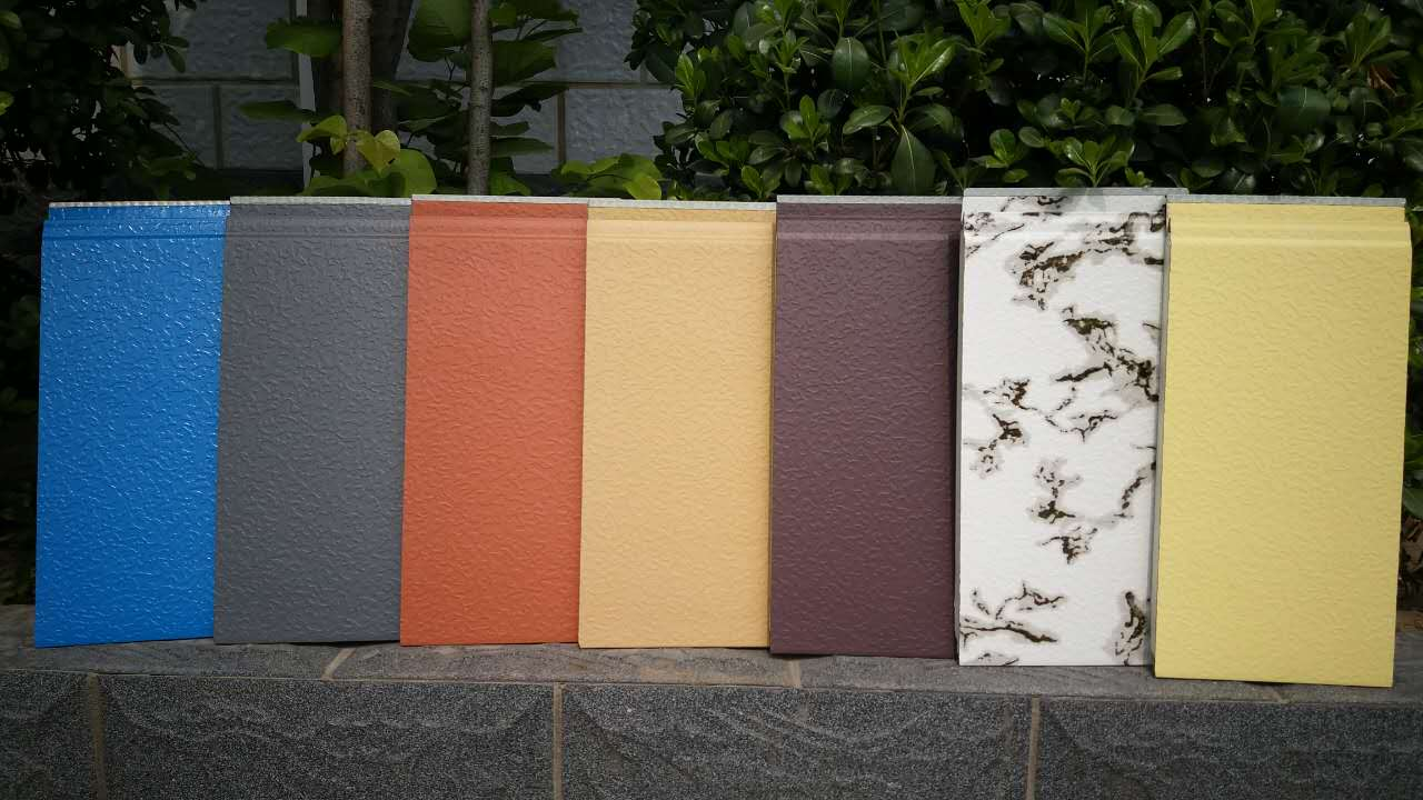 郑州佳合金属雕花保温装饰一体板高耐候防腐蚀30年不变色 外墙保温材料