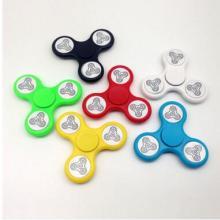 指尖陀螺LED彩灯发光三角闪光手指创意EDC玩具指间螺旋减压玩具批发