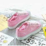 夏季新款镂空透气帆布鞋韩版学生女鞋时尚百搭小白鞋平底板鞋网鞋