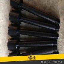 交通设施高速公路防撞护栏螺栓外螺纹六角氧化发黑防腐防盗卸螺栓