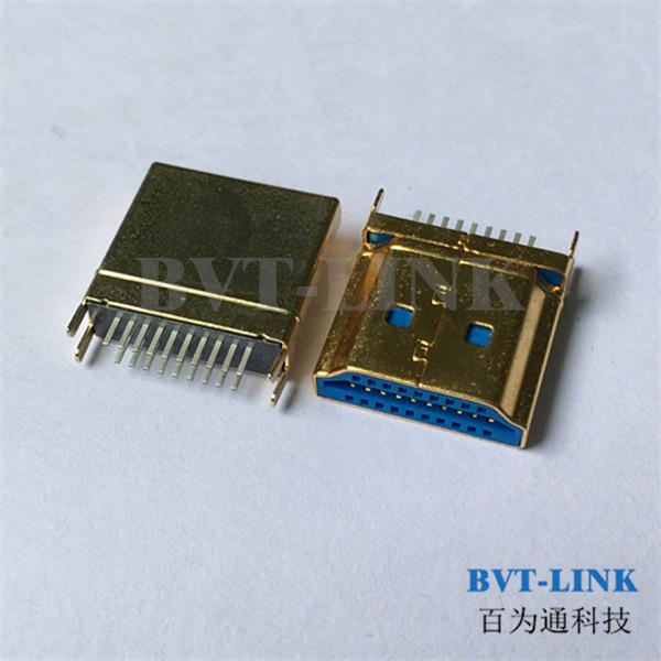 上海HDMI公头夹板1.0连接器_上海HDMI公头夹板厂家