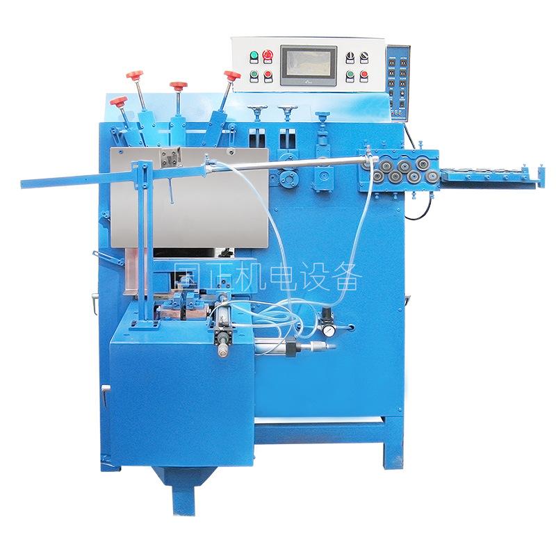 全自动打圈焊接一体机 铁圈对焊一体机 广东江门国正机电设备 全自动打圈机