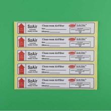 东莞标签厂直销安全环保小标签贴书写纸标签纸精致美观不干胶定制图片