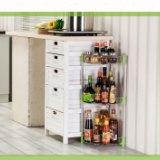 304不锈钢调味架厨房三角置物架 壁挂调味料收纳转角架用品落地架