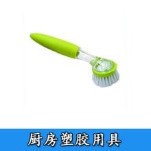 廚房塑膠用具廠家 全包式手柄硅膠湯勺 牙刷等塑膠制品圖片