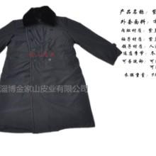 供应淄博金家山皮业有限公司 直供活里活面紫羔羊皮皮毛一体大衣