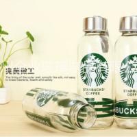 厂家大量批发水杯玻璃瓶 提手玻璃瓶 饮料水杯便携玻璃杯