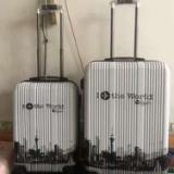 厂家直销韩版时尚潮流pc旅行拉杆箱万向轮20寸经典防磨行李登机箱