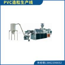 PVC造粒生产线废旧料回收造粒加工热切造粒生产流水线挤出造粒机图片