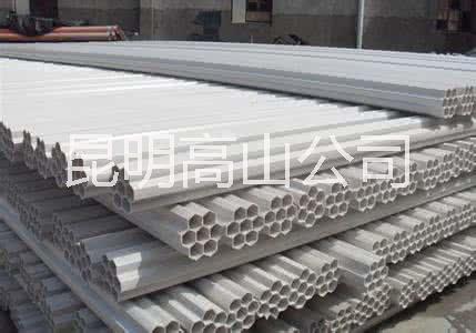 云南昆明PVC七孔梅花管厂家直销,昆明PVC七孔梅花管价格
