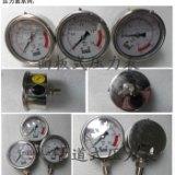 广东耐震压力表厂家 不锈钢压力表 轴向防震压力表 水处理设备压力表批发