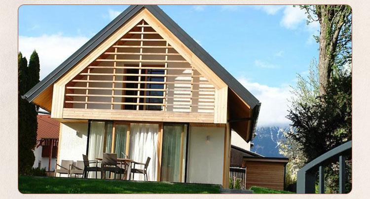 轻型木结构建筑在住宅单元的使用寿命内具有大大降低采暖和制冷费用的