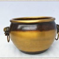 纯铜缸 铜雕缸 铜雕缸定做价格 铜缸铸造厂 小铜缸摆件 80公分黄铜缸 铜缸生产厂家 招财缸铸造 1.2米大铜缸 青铜