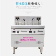 供应双缸电磁炸炉 双缸电磁炸炉  电炸炉双缸商用  双缸炸炉
